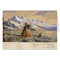 Wigwam of Ute Indians, Salt Lake City cards