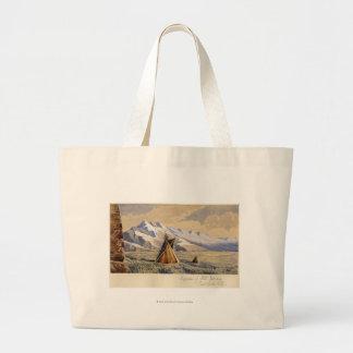 Wigwam of Ute Indians, Salt Lake City Jumbo Tote Bag