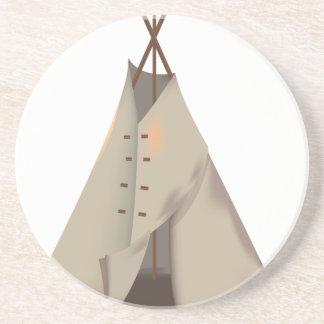 Wigwam -teepee sandstone coaster