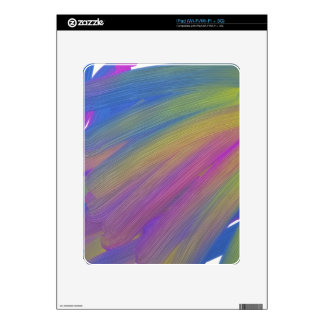 wii controller, color, abstract iPad decal