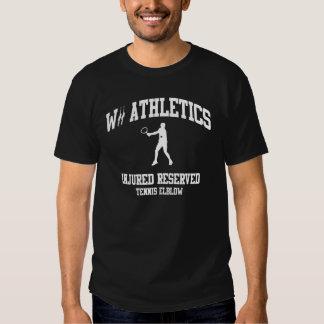 Wii Injured Reserved Tennis Dark Shirts