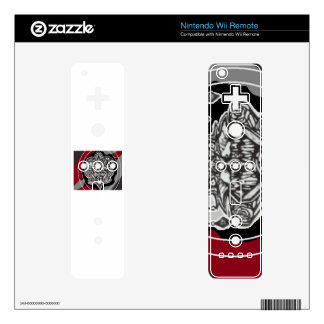 Wii remote custom art decal for the wii remote