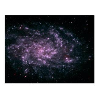 WII Remote Galaxy Skin Postcard