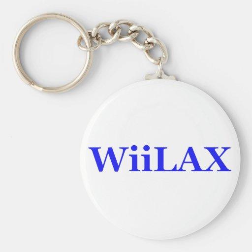 Wiilax Llavero Redondo Tipo Pin