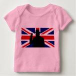 Wiinston Churchill British bulldog Baby T-Shirt