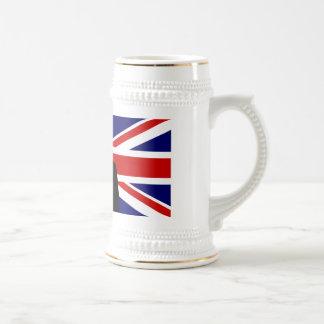 Wiinston Churchill British bulldog Beer Stein