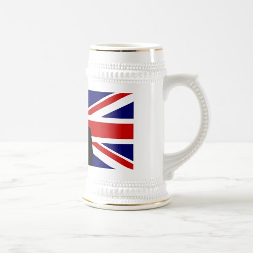 Wiinston Churchill British bulldog Coffee Mugs