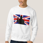 Wiinston Churchill British bulldog Sweatshirt