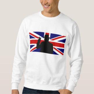 Wiinston Churchill British bulldog Sweatshirt