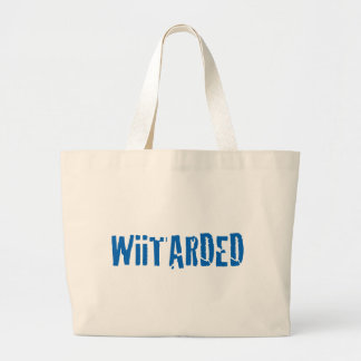 WiiTARDED Large Tote Bag