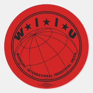 WIIU Stickers Large
