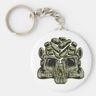 Wiked Demonsions Logo Keychain
