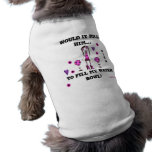 WIKH Dog T-Shirt Fill my water bowl!