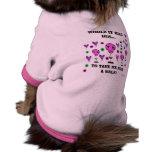 WIKH Dog T-Shirt Take Me For A Walk!