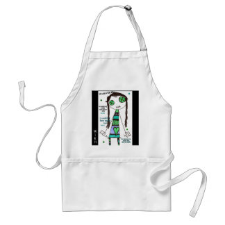 WIKH Exclusive Adult Apron