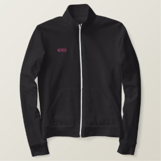 WIKH Exclusive Embroidered Track Jacket