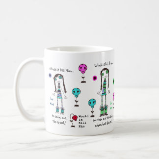 WIKH Exclusive ~ ToNs of Around the House Classic White Coffee Mug