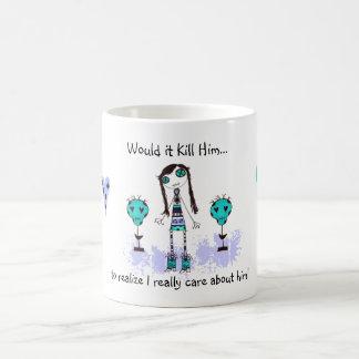WIKH Ser#04 Maybe I'll Be Nice! Classic White Coffee Mug