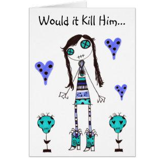 WIKH Ser#06 ACKNOWLEDGE ME ALREADY! Card