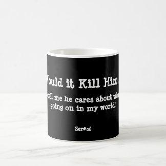 WIKH Ser #06 ACKNOWLEDGE ME ALREADY! Coffee Mug
