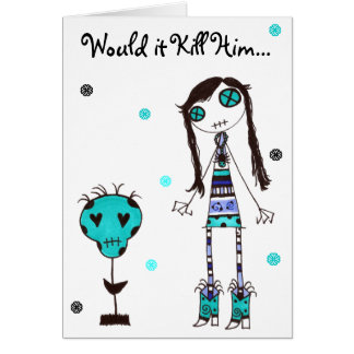 WIKH Ser#11 WHERE'S THE AFFECTION! Card