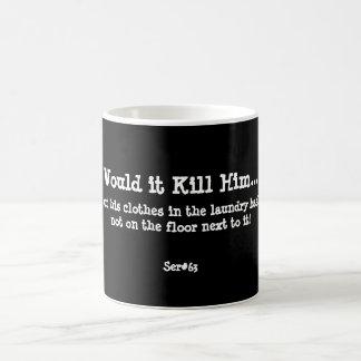 WIKH Ser #63 Around the House Classic White Coffee Mug
