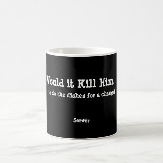 WIKH Ser #67 Around the House Classic White Coffee Mug
