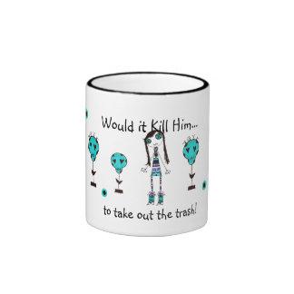 WIKH Ser #68  Around the House Ringer Coffee Mug