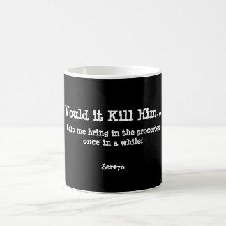 WIKH Ser #70 Around the House Classic White Coffee Mug