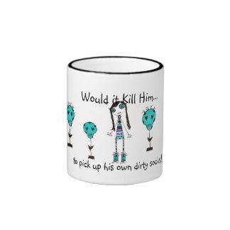 WIKH Ser #73 Around The House Ringer Coffee Mug