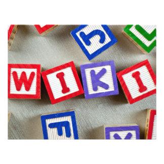 Wiki Flyer