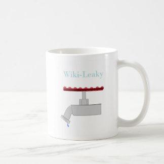 Wiki Leaky Coffee Mug