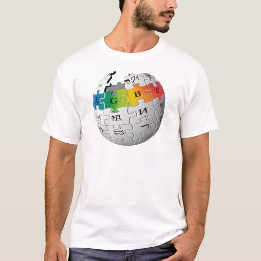Wiki-Mundo de LGBT Playera