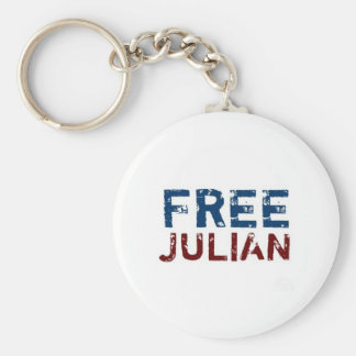 WikiLeaks - Julian Assange Keychain
