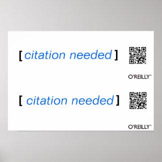 Wikimedia protestor citation needed poster