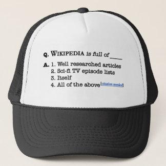 Wikipedia is Full Trucker Hat