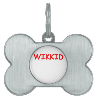 wikkid pet tag