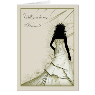 wil you be my Hostess cream blends Card