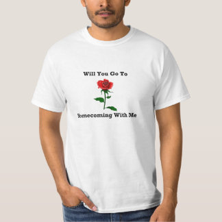 Wil You Go To Homecoming With Me T Shirt