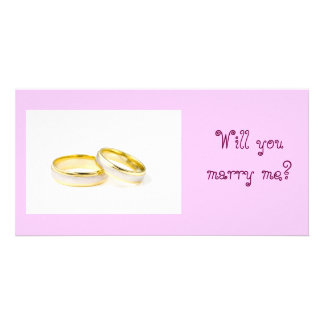 Wil You Marry Me Card