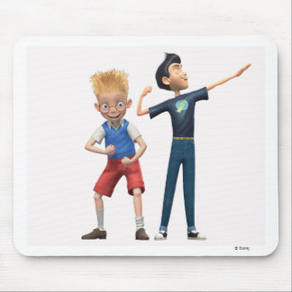 Wilber and Lewis Disney Mouse Pad