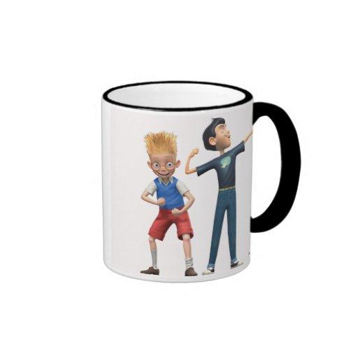 Wilber and Lewis Disney Coffee Mugs