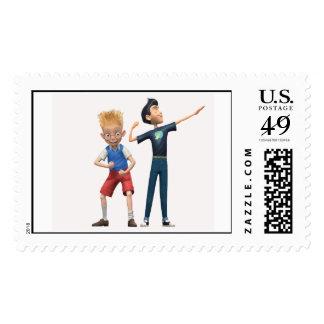 Wilber and Lewis Disney Postage Stamp