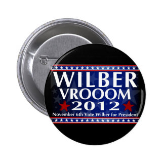 Wilber for President Button