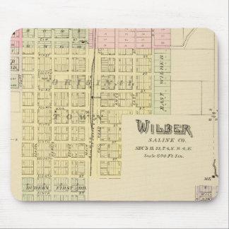 Wilber, Nebraska Mouse Pad