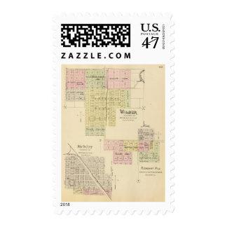 Wilber, Nebraska Postage