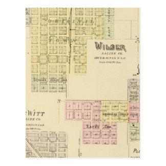 Wilber, Nebraska Postcard