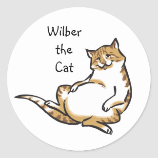 Wilber Sticker (Cartoon)