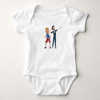 Wilber y Lewis Disney Body Para Bebé