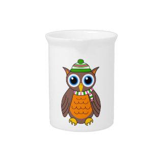 Wilbert the Owl Pitcher